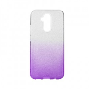 Pouzdro Back Case Shining Samsung A750 Galaxy A7 (2018), barva fialová