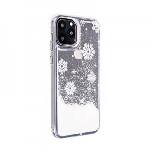 Pouzdro Winter Huawei P Smart (2019), vzor Snow