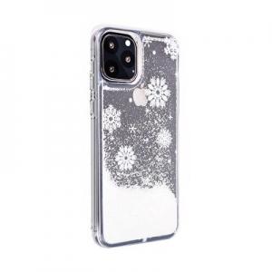 Pouzdro Winter Samsung G973 Galaxy S10, vzor Snow