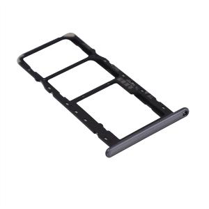 Držák (šuplík) SIM Huawei Y6 (2019) black