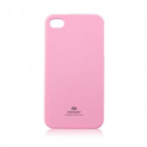 Pouzdro MERCURY Jelly Case iPhone 6, 6S světle růžová