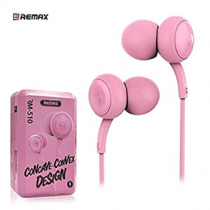 Hands Free REMAX RM-510 3,5 mm jack, barva růžová