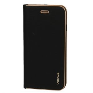 Pouzdro LUNA Book Xiaomi Redmi 7 barva černá