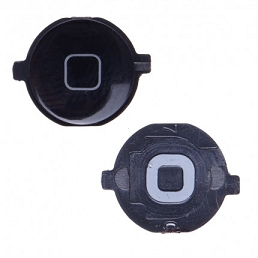 Tlačítko HOME iPhone 4 černé