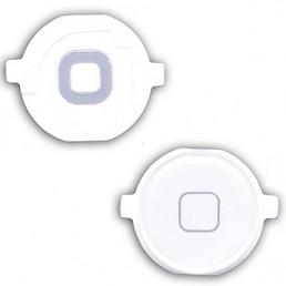 Tlačítko HOME iPhone 4 bílé
