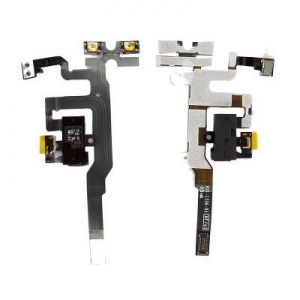 Flex iPhone 4S s konektorem HF bílá