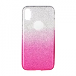 Pouzdro Back Case Shining iPhone 11 Pro Max (6,5), barva růžová