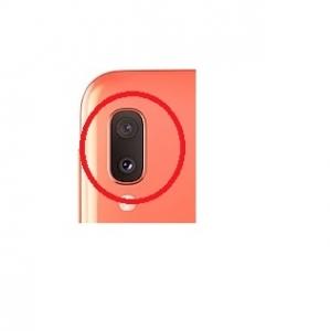Sklíčko zadní kamery Samsung A202 Galaxy A20e orange (coral)