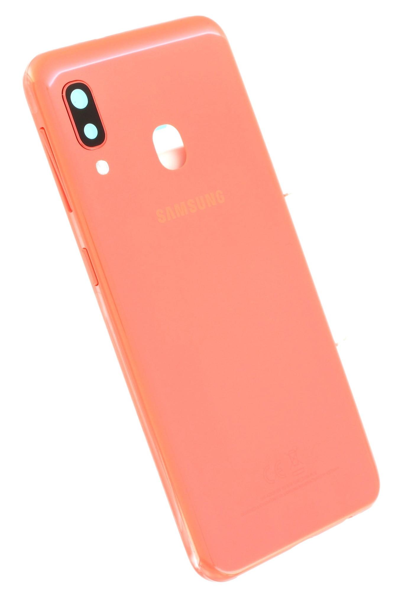 Samsung A202 Galaxy A20e kryt baterie coral (orange)