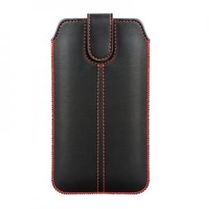 Pouzdro FORCELL M4 iPhone 12, 13 Pro Max, Samsung Note 8, Note 9, J4 Plus, barva černá