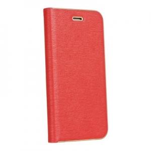 Pouzdro LUNA Book iPhone X, XS (5,8) barva červená