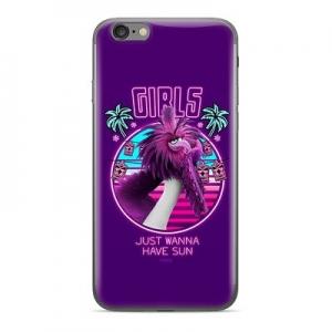 Pouzdro iPhone 5, 5S, SE Angry Birds Girls vzor 018