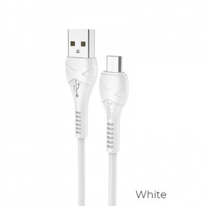 Datový kabel HOCO X37 Micro USB barva bílá - 1 metr