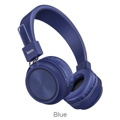 Bluetooth headset HOCO Promise W25 barva modrá