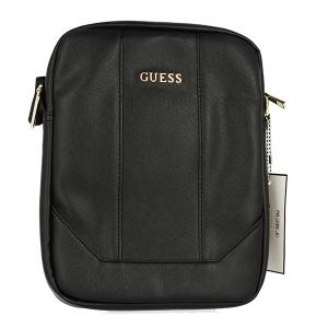 """Tablet Bag Guess, velikost 10"""" - Saffiano, barva černá"""