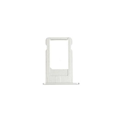 Šuplík SIM iPhone 6 4,7 Barva stříbrná / bílá