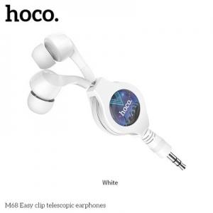 Hands Free HOCO M68 3,5 mm jack barva bílá