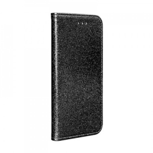 Pouzdro Shining Book Huawei P Smart (2019), barva černá