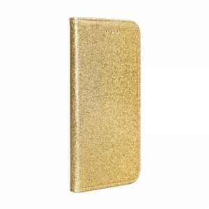 Pouzdro Shining Book Samsung G980 Galaxy S20, barva zlatá