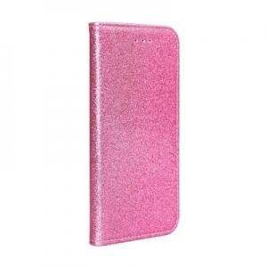 Pouzdro Shining Book Samsung A715 Galaxy A71, barva růžová