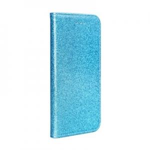 Pouzdro Shining Book Samsung A715 Galaxy A71, barva modrá
