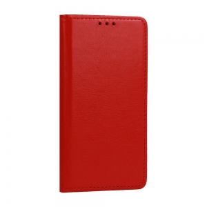 Pouzdro Book Leather Special Samsung A715 Galaxy A71, barva červená