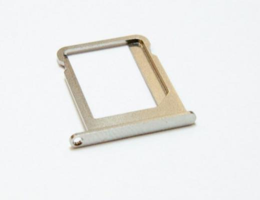 Šuplík SIM iPhone 7 4,7 gold