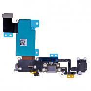 Flex iPhone 6S PLUS 5,5 s konektorem nabíjení Barva šedá