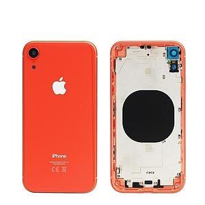 Kryt baterie + střední iPhone XR (6,1) originál barva coral