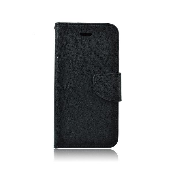 Pouzdro FANCY Diary Huawei P40 Lite E barva černá