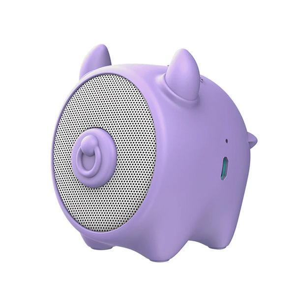 Mini reproduktor BlueTooth Baseus Kravička, barva fialová