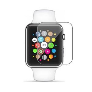 Tvrzené sklo 5D Apple Watch 38x33mm, transparentní