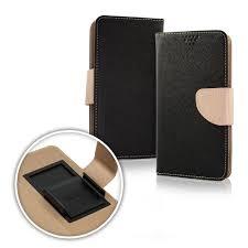 Pouzdro Book STICK FANCY universal 5,8 - 6,3 černá/zlatá