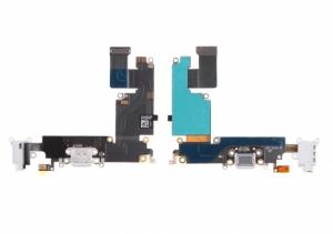 Flex iPhone 6 PLUS (5,5) s konektorem nabíjení Barva bílá