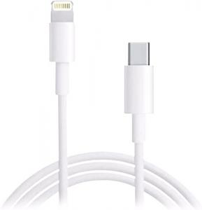 Datový kabel Typ C / Lightning barva bílá