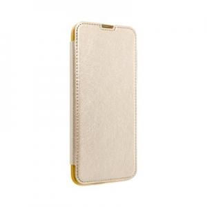 Pouzdro Electro Book Huawei P40 Lite E, barva zlatá