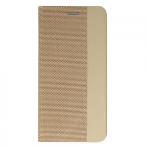Pouzdro Sensitive Book iPhone 11 Pro Max (6,5), barva zlatá