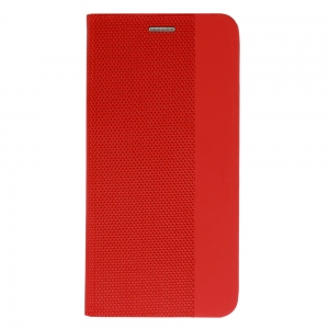 Pouzdro Sensitive Book Samsung A405 Galaxy A40, barva červená