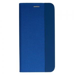 Pouzdro Sensitive Book Samsung A715 Galaxy A71, barva modrá