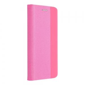 Pouzdro Sensitive Book Samsung G985 Galaxy S20 Plus, barva růžová