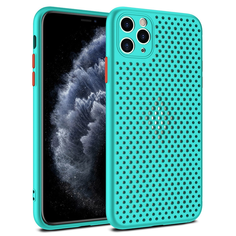 Pouzdro Breath Case Huawei P40, barva tyrkysová