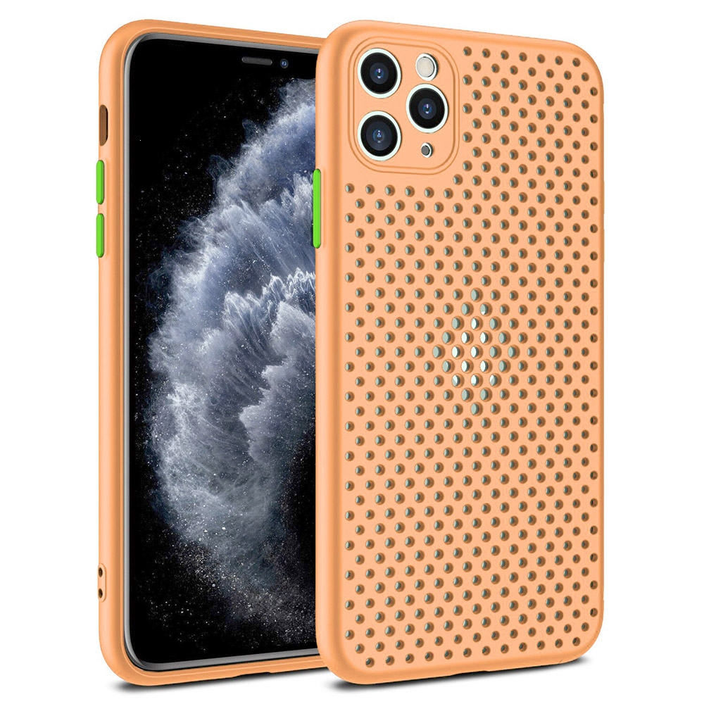 Pouzdro Breath Case iPhone 11 (6,1), barva oranžová