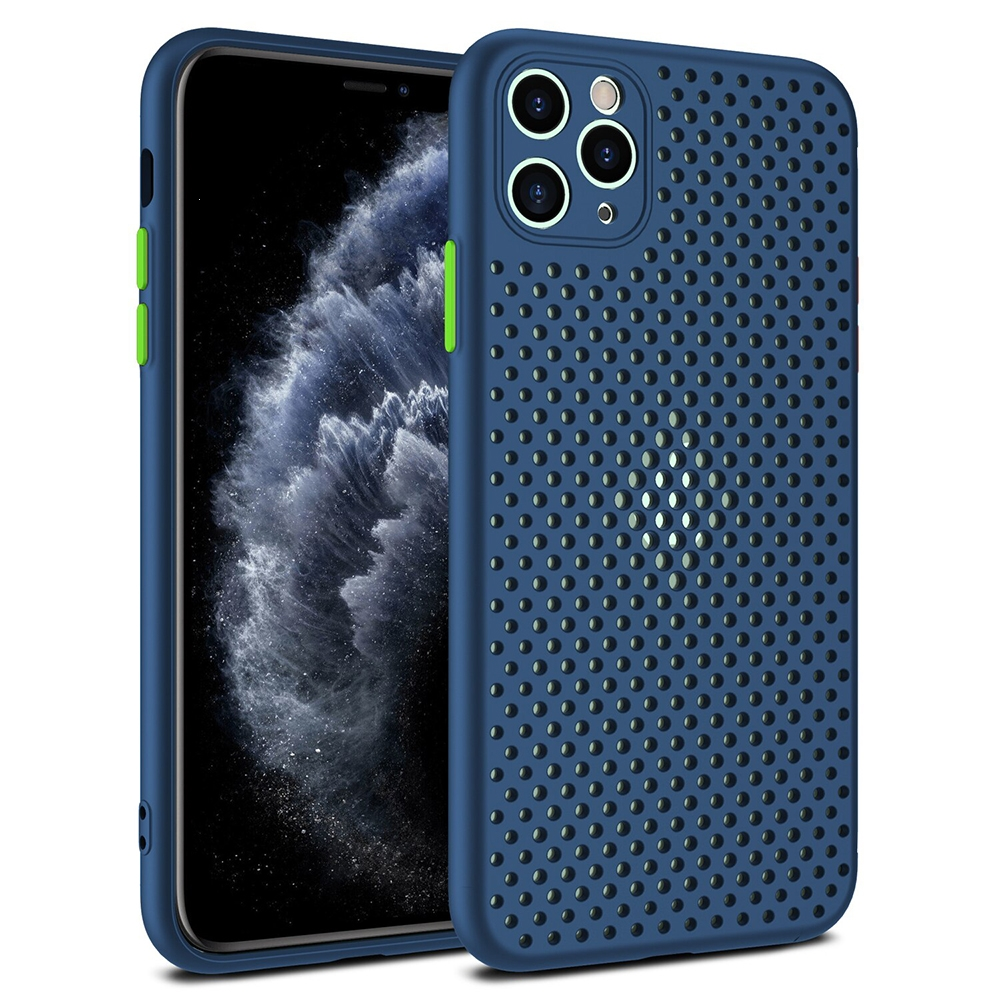 Pouzdro Breath Case Huawei P40 Lite, barva modrá