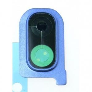 Sklíčko zadní kamery Samsung A405 Galaxy A40 modrá