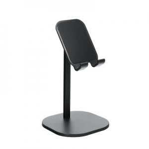Stojánek pro mobil teleskopický - plast/kov, barva černá