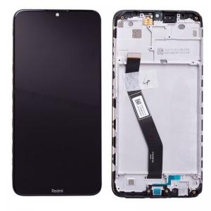 Dotyková deska Xiaomi Redmi 8, 8A + LCD s rámečkem černá