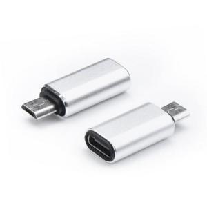 Redukce USB TYP C / micro USB barva stříbrná