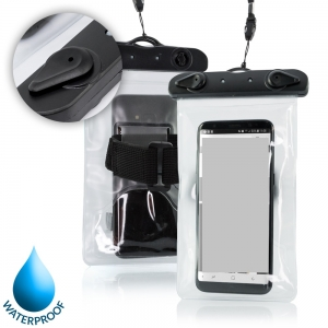 Pouzdro voděodolné ARM zámek plastový, barva transparentní