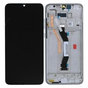 Dotyková deska Xiaomi Redmi NOTE 8 PRO + LCD s rámečkem černá