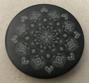 Držák PopSocket - barva černá, mandala